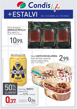 Ofertas de Condis  en el folleto de Barcelona