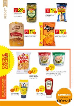 Ofertas de Patatas fritas  en el folleto de Consum en Gandia
