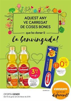 Ofertas de Consum  en el folleto de Llagostera