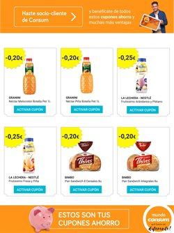 Ofertas de Pan  en el folleto de Consum en Benidorm