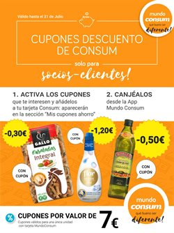 Ofertas de Consum  en el folleto de San Vicente del Raspeig