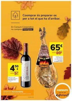 Ofertas de Consum  en el folleto de Sagunt-Sagunto