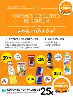 Ofertas de Hiper-Supermercados en el catálogo de Consum en Lloret de Mar ( Caduca mañana )