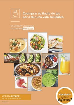 Catálogo Consum en Carcaixent ( 3 días más )