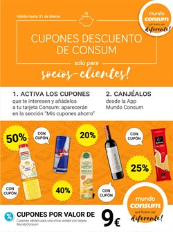 Catálogo Consum en Nules ( Caduca mañana )