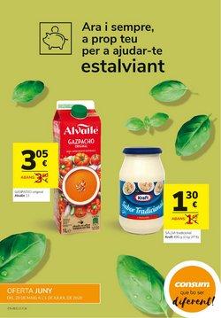 Catálogo Consum en Bellpuig ( 26 días más )