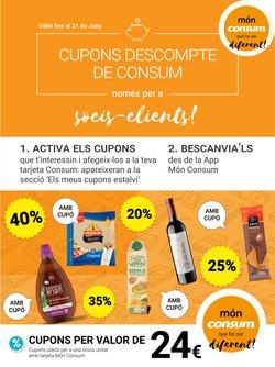 Catálogo Consum en Bellpuig ( 25 días más )