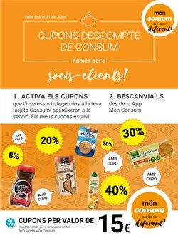 Catálogo Consum en Mollet del Vallès ( 18 días más )