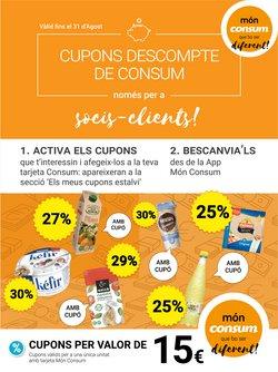 Catálogo Consum en Girona ( 23 días más )