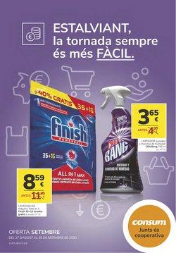 Catálogo Consum en Mataró ( Caduca mañana )