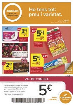 Ofertas de Consum en el catálogo de Consum ( 10 días más)