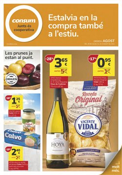 Ofertas de Consum en el catálogo de Consum ( Caducado)