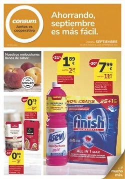 Ofertas de Consum en el catálogo de Consum ( 4 días más)