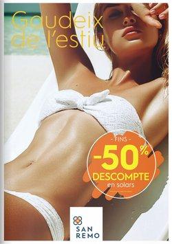 Ofertas de Perfumerías San Remo en el catálogo de Perfumerías San Remo ( Más de un mes)