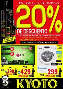 Ofertas de Kyoto electrodomésticos  en el folleto de Barcelona