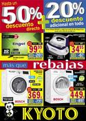 Ofertas de Kyoto electrodomésticos  en el folleto de Granada