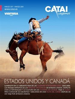 Ofertas de Viajes a Estados Unidos  en el folleto de Catai en Madrid