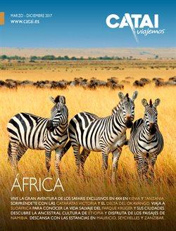 Ofertas de Viajes a África  en el folleto de Catai en Madrid