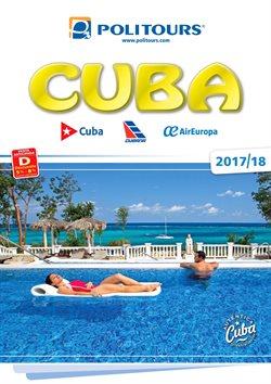 Ofertas de Viajes a Cuba  en el folleto de Politours en Madrid