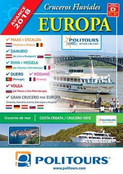 Ofertas de Cruceros  en el folleto de Politours en Madrid