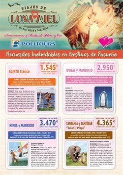 Ofertas de Politours  en el folleto de Madrid
