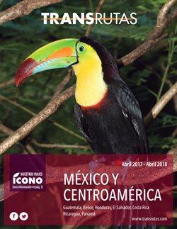 Ofertas de Viajes a México  en el folleto de Transrutas en Madrid
