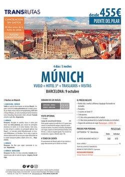 Ofertas de Viajes en el catálogo de Transrutas ( 10 días más)