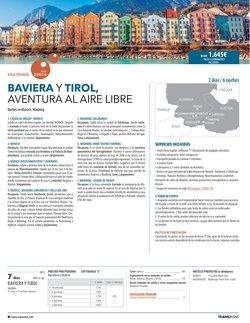 Ofertas de Munich en el catálogo de Transrutas ( Más de un mes)