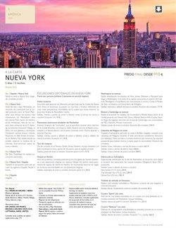 Ofertas de Viajes a Nueva York  en el folleto de Tui Travel PLC en Madrid