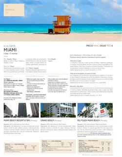 Ofertas de Viajes a Miami  en el folleto de Tui Travel PLC en Madrid