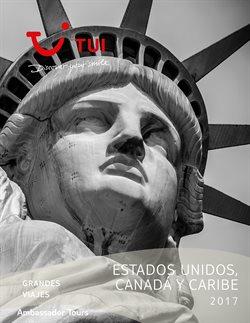 Ofertas de Viajes a Estados Unidos  en el folleto de Tui Travel PLC en Madrid
