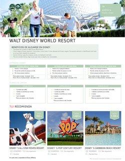 Ofertas de Disney en el catálogo de Tui Travel PLC ( Más de un mes)