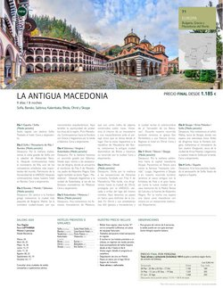 Ofertas de Macedonia en Tui Travel PLC