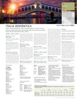 Ofertas de Roma en Tui Travel PLC