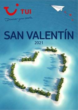 Ofertas de San Valentín en el catálogo de Tui Travel PLC ( Más de un mes)