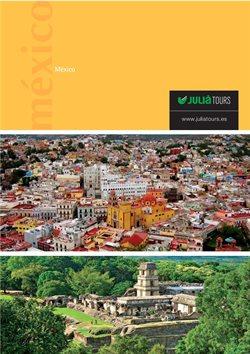 Ofertas de Viajes a Cancún  en el folleto de Julià Central de Viajes en Madrid