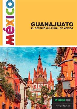 Ofertas de Viajes a México  en el folleto de Julià Central de Viajes en Madrid
