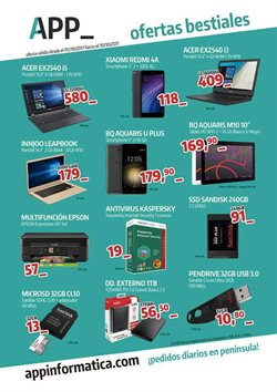 Ofertas de Xiaomi  en el folleto de App Informática en Madrid