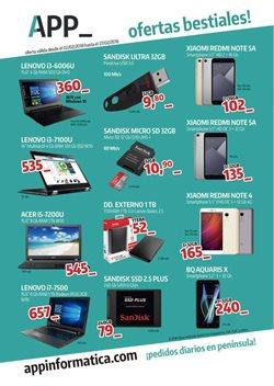 Ofertas de Xiaomi  en el folleto de App Informática en León