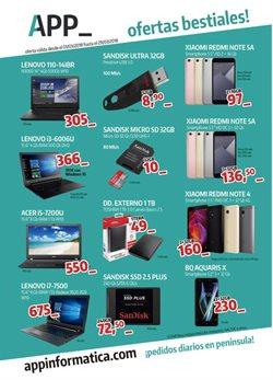 Ofertas de Disco duro  en el folleto de App Informática en León
