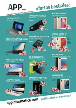 Ofertas de Xiaomi  en el folleto de App Informática en Dos Hermanas