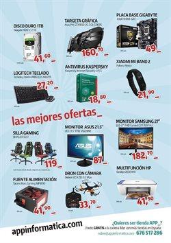 Ofertas de App Informática  en el folleto de Oviedo