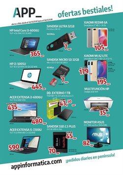 Ofertas de App Informática  en el folleto de Valencia