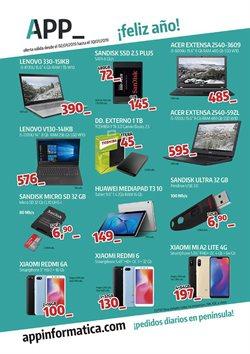 Ofertas de App Informática  en el folleto de Guadalajara