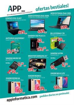 Ofertas de App Informática  en el folleto de Telde