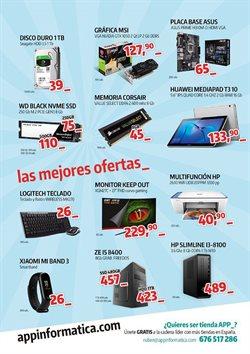 Ofertas de App Informática  en el folleto de León