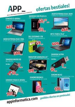Ofertas de App Informática  en el folleto de San Sebastián de los Reyes
