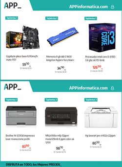 Ofertas de App Informática  en el folleto de Culleredo
