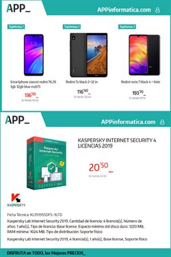 Ofertas de App Informática  en el folleto de Arganda del Rey