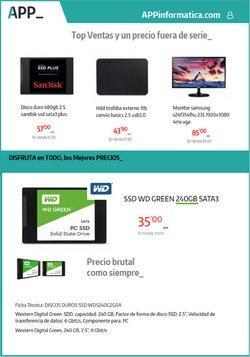 Ofertas de App Informática  en el folleto de carabanchel